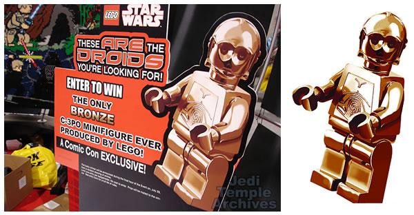 C-3PO Bronze [San Diego Comic Con 2007 Exclusive]