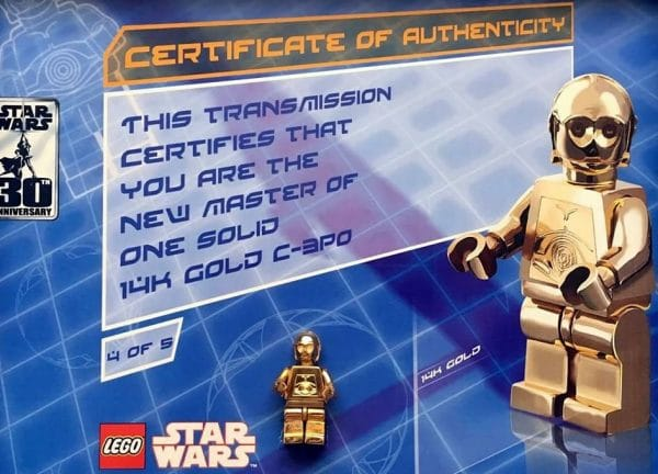 solid gold c3po