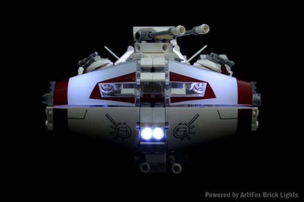 10198 Tantive IV with LED Brick Lights - Artifex Creation