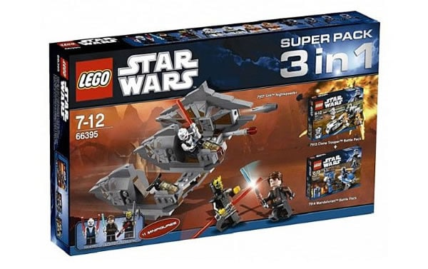 66395 - LEGO Star Wars Super Pack 3in1