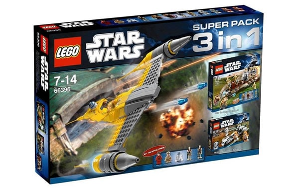 66396 - LEGO Star Wars Super Pack 3in1