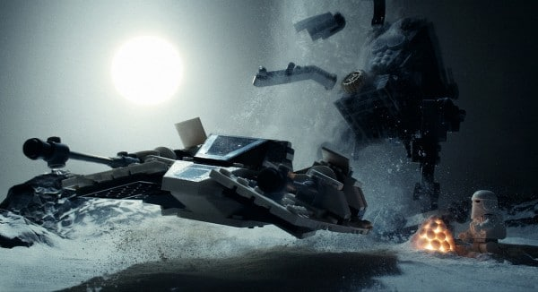 Snowspeeder Knock-Over Mission by Avanaut