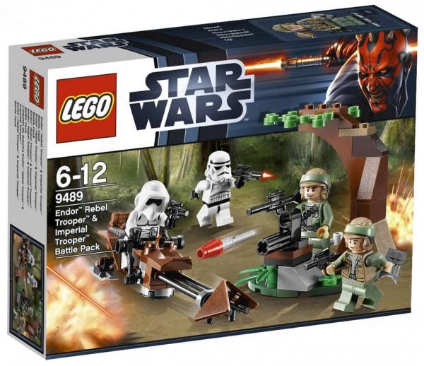 9489 Endor Rebel Trooper & Imperial Trooper Battle Pack