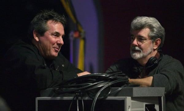 Rick McCallum & Georges Lucas