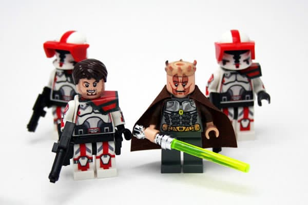 Old Republic Jedi & Republic Troopers