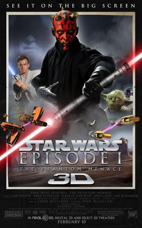Star Wars Episode I : The Phantom Menace 3D