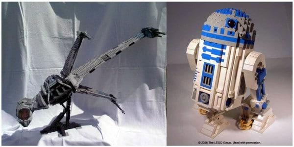 UCS B-Wing par Cavegod - R2-D2 par LEGO