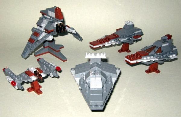 7957 Sith Nightspeeder alternative models by LEGOstein