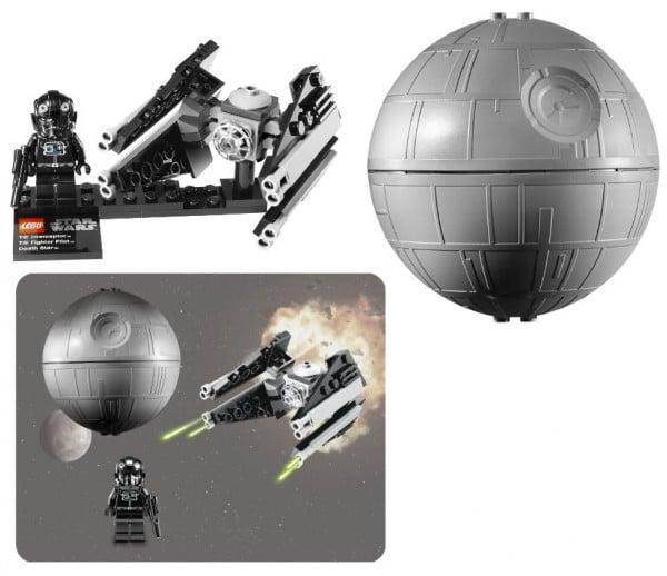 9676 - TIE Interceptor and Death Star
