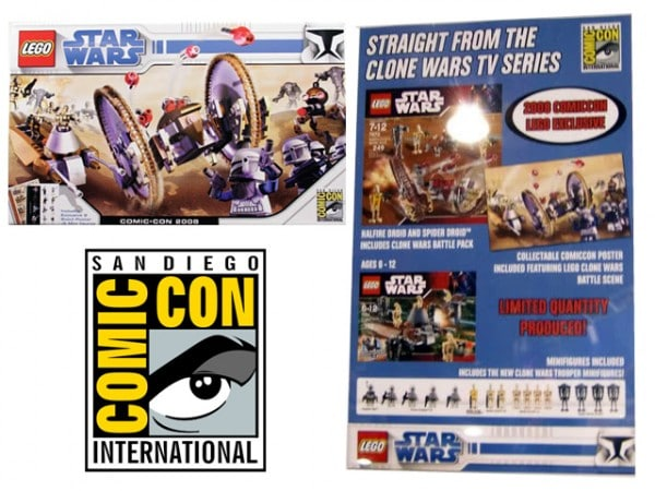 2008 SDCC - Comic Con Exclusive Clone Wars Set
