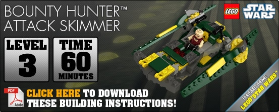 Bounty Hunter Assault Skimmer