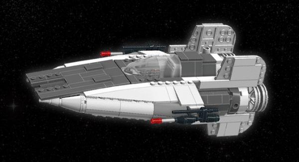 A-Wing par Hollander