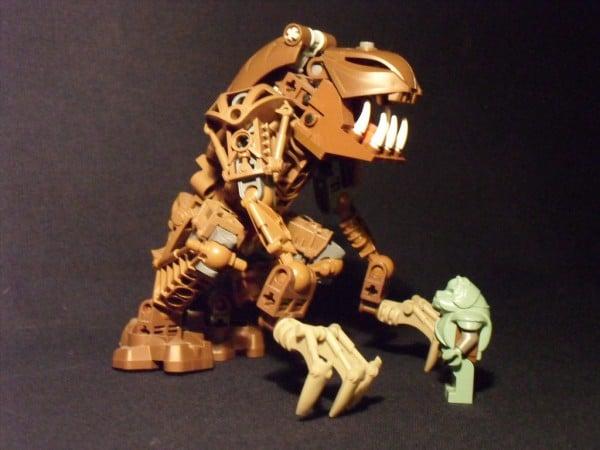 puppetmasterzero - Bionicle Rancor