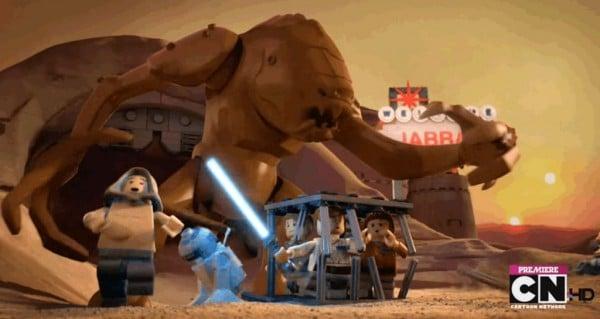 LEGO Star Wars The Padawan Menace - Rancor