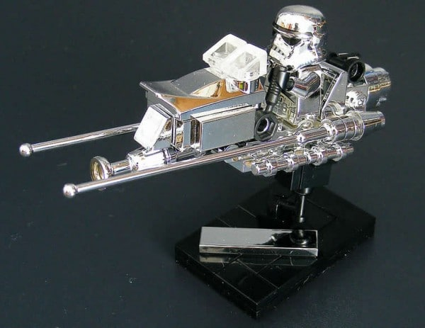 Chrome Imperial Speeder Bike par Cole