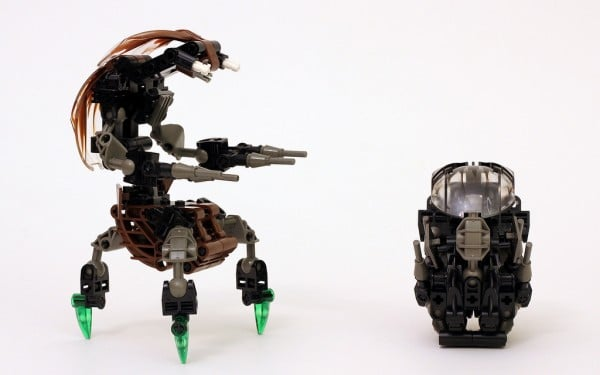 Droideka - Episode I : The Phantom Menace - MOC by True Dmensions