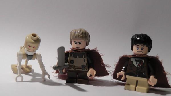Gollum,Sam et Frodo par Mcshipmaster