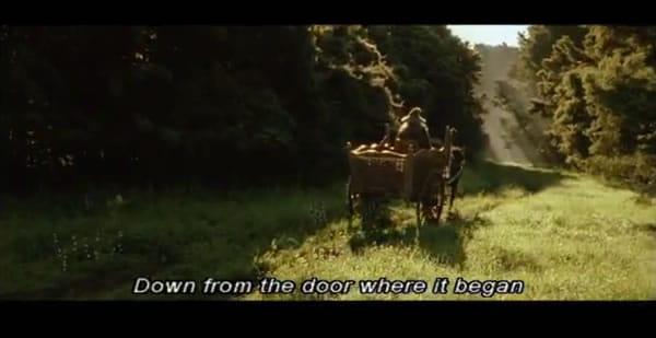 LOTR - Gandalf arrives in Hobbiton