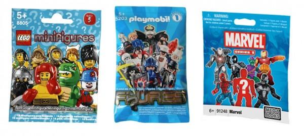 LEGO - Playmobil - MegaBloks