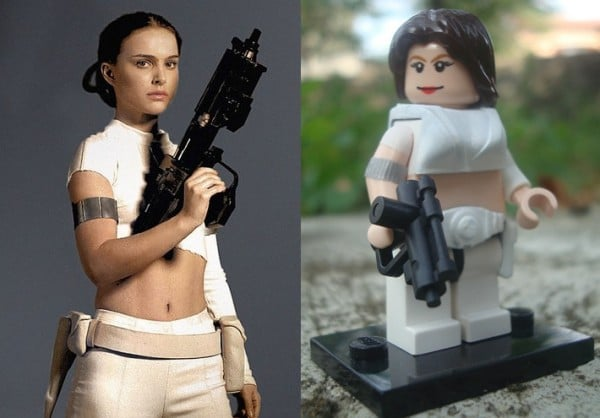 Padme Amidala par Lakuda's customs