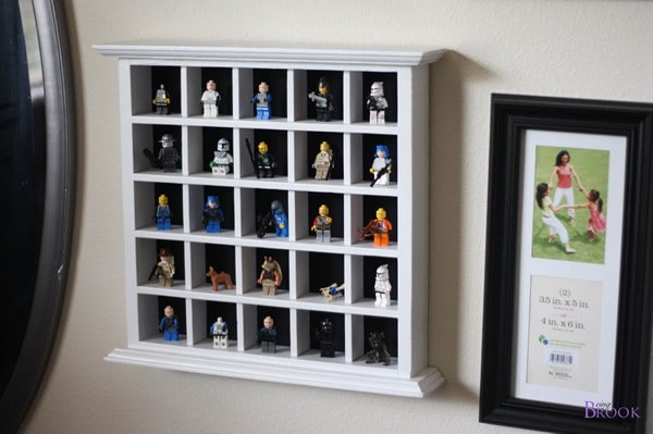 Brook's Lego Minifig Storage