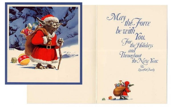 1981 Christmas Card - Lucasfilm