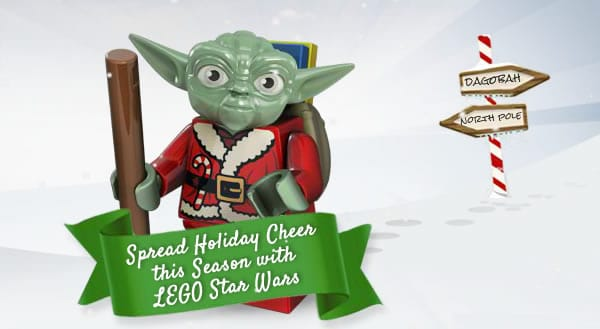 LEGO Santa Yoda Website
