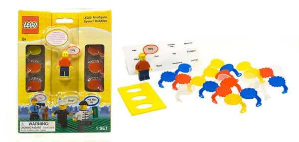 Minifigure Speech Bubbles