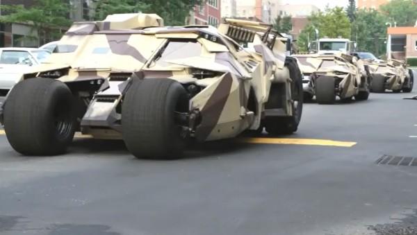 The Dark Knight Rises : Tumbler