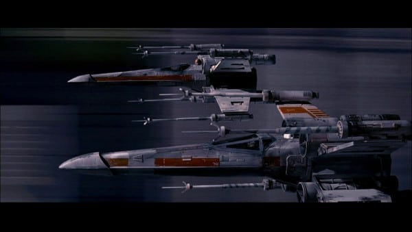 X-Wing Movie Scene