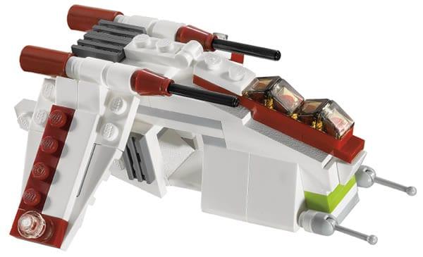 20010 BrickMaster Republic Gunship
