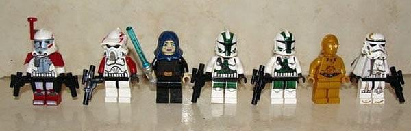 LEGO Star Wars 2012 minifigs