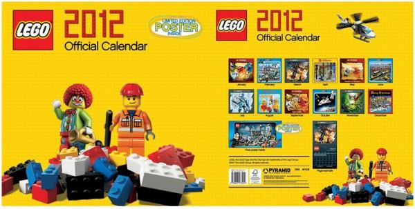 LEGO 2012 Official Calendar
