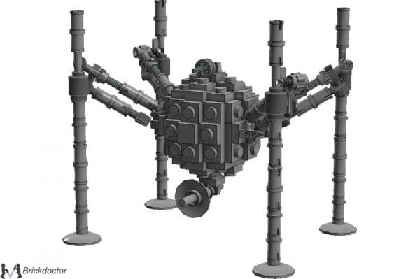 Midi-Scale OG-9 Homing Spider Droid par Brickdoctor