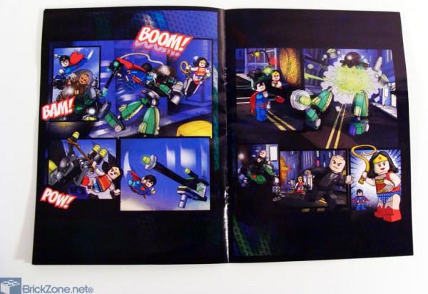6862 Superman vs Power Armor Lex