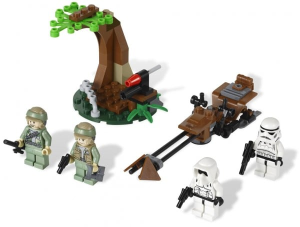 9489 Endor Rebel Trooper & Imperial Trooper