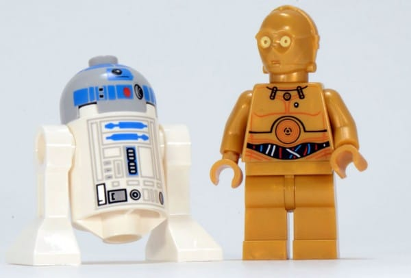 2012 LEGO Star Wars 9490 droid Escape - C-3PO