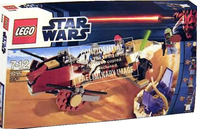 Lego star wars 2012 the second wave unveiled return of the jabba