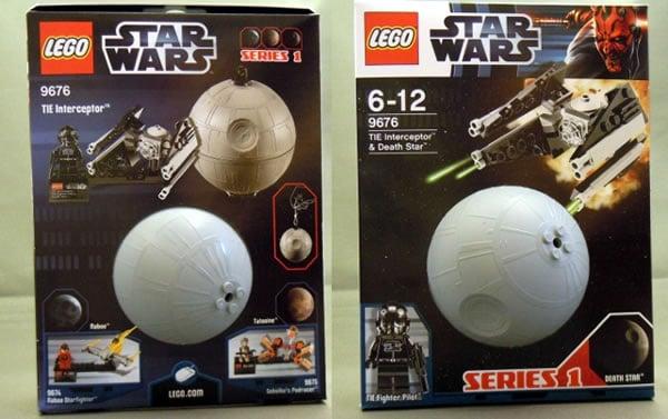 9676 – TIE Interceptor and Death Star