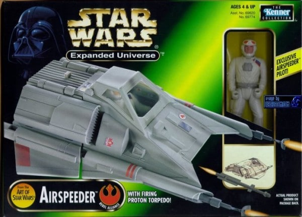 Kenner Modified Incom T-47 Airspeeder Prototype