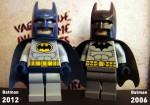 Batman (Grey Suit) 2012 vs Batman (Grey Suit) 2006