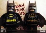 Batman (Black Suit) 2012 vs Batman (Black Suit) 2006