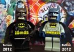 Batman (Black Suit) 2012 & Batman (Grey Suit) 2012