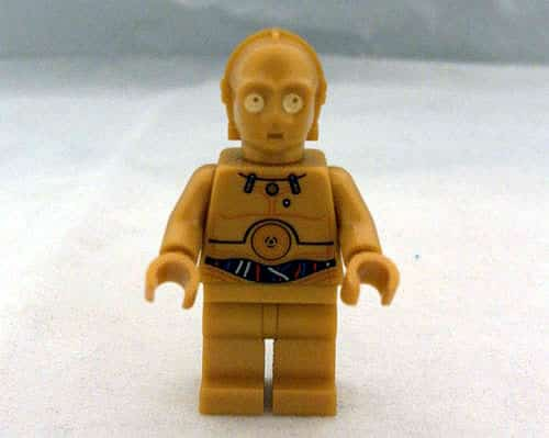 2012 LEGO Star Wars 9490 Droid Escape - C-3PO minifig