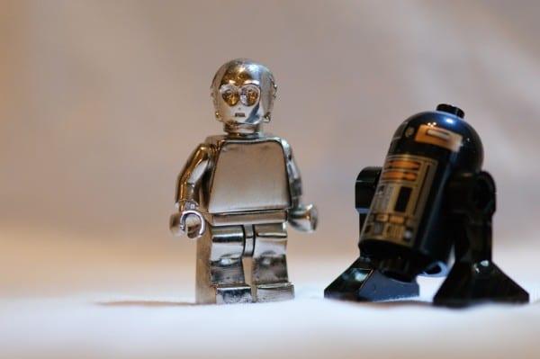Fake C-3PO Silver