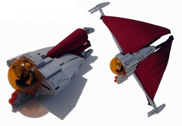 Asajj Ventress Ginivex Starfighter par Rook