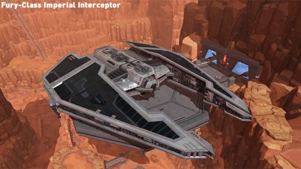 Star Wars The Old Republic - Fury-Class Imperial Interceptor