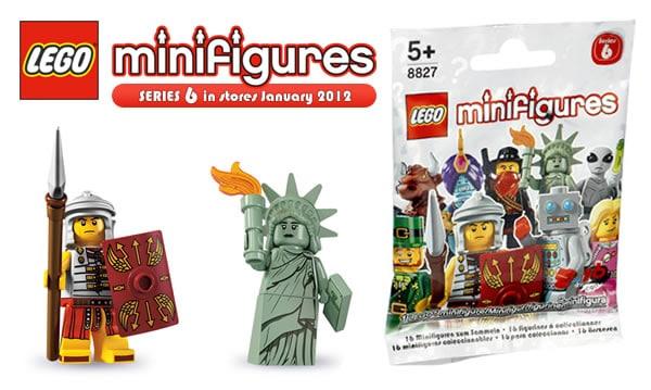 Minifigures Series 6
