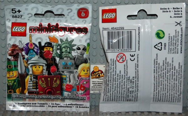 Collectible Minifigs Series 6