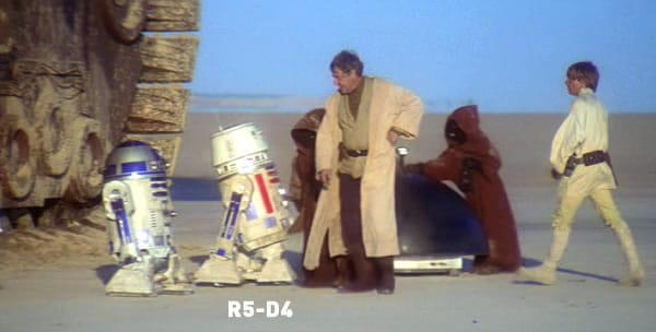 R5-D4 Astromech Droid
